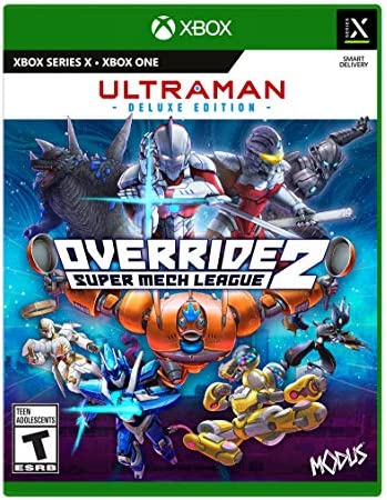Override 2 Ultraman Deluxe Edition Xb1 Xbox One and Xbox Series X product image