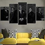 Airxcn 5-teiliges Leinwandbild Goodfellas The Sopranos