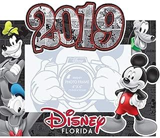 Jerry Leigh Disney 2019 Florida Photo Frame Comic Four Mickey Mouse Florida