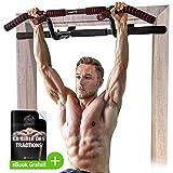 Sportstech Premium Combi Package ! Barre de Traction 6 en 1, y Compris Dip Bar & Power Ropes, Barre de Traction sans perçage,...