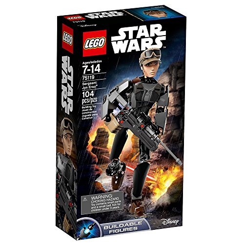 LEGO Star Wars 75119 Sergeant Jyn Erso Constraction Figure by LEGO