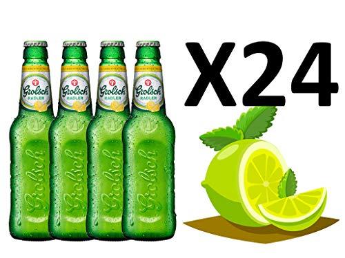 Cerveza Holandesa Grolsch Radler con limón, Pack de 24 unidades