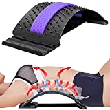 Bcway Back Stretcher, Multi-Level Lumbar spine deck back stretcher for Herniated Disc,Sciatica, Scoliosis ,spine deck on Bed Chair Car…