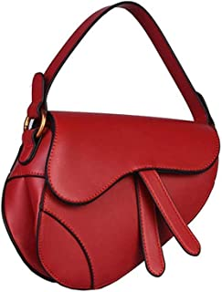 KHBJD Small Crossbody Bags Shoulder Bag for Women Stylish Ladies Messenger Bags Purse and Handbags 93/5000 (Color : Red)
