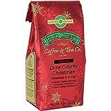 Door County Coffee Holiday Seasonal Blend, Door County Christmas, Cinnamon and Spice Flavored Ground Coffee, 8 oz Bag