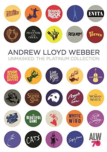 Unmasked: The Platinum Collection [4 CD] Andrew Lloyd Webber Import