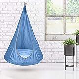 Further Kids Pod Swing Seat Silla Colgante Columpio Sensorial para Niños, Asiento Colgante Plegable para Diversión Uso Al Aire Libre En Interiores
