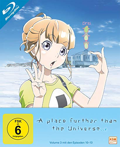 A Place Further Than The Universe - Volume 3 (Episode 10-13) [Blu-ray]