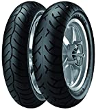 Metzeler Feelfree Tire - Front - 120/80-14 , Position: Front, Load Rating: 58, Speed Rating: S, Tire Size: 120/80-14, Rim Size: 14, Tire Type: Scooter/Moped, Tire Construction: Bias 1660300