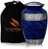 Urns For Human Ashes - Honor your loved one by showcasing their ashes in this beautiful and elegant handcrafted Personalized urn vase. The timeless design has been made to fit in with any home or office décor. This SmartChoice urn is the way to go fo...