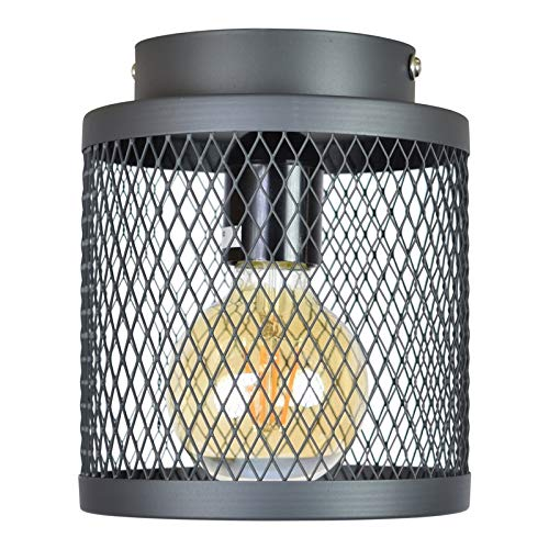Urban interiors - Fence - Plafondlamp - Ø18cm. - vintage black