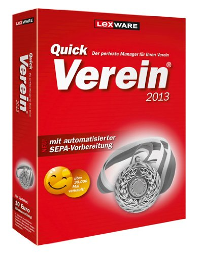 Quickverein 2013 NEU (Version 10.00)
