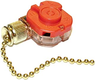 Marley Pull Chain Switch for Whole House Direct Drive Fans and Air Circulators Qmark Berko