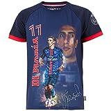 PSG–Angel Di Maria–Camiseta oficial Paris Saint Germain–Talla de Niño, azul, 4 años