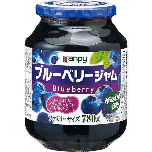 ブルーベリージャム 780g /カンピー(12本)