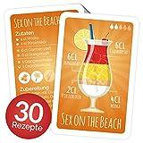 Chroma Products Cocktail Rezepte auf Karten: 30 Cocktailrezepte und Erklärungen cellophaniert,...
