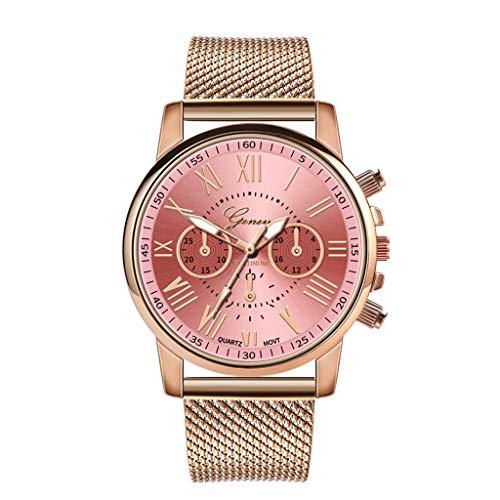 Hzing Damen Quarzuhr ultradünne Armbanduhr für Frauen Classic Minimalistisches Design Casual Uhren