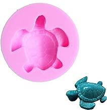 Efivs Arts EA162 Sea Turtle Shaped Silicone Candy Fondant Chocolate Making Mold Cake Decorating Mould
