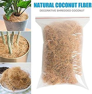 Artwarm Orquídeas de Fibra de Coco para Manualidades, a Prueba de Insectos, Protege Las Plantas y Mantiene la Temperatura del Suelo, 200 g