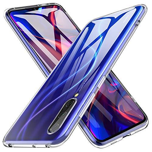 iBetter für Xiaomi Mi A3 Hülle, Soft TPU Ultradünn Cover [Slim-Fit] [Anti-Scratch] [Shock Absorption] passt für Xiaomi CC9E Smartphone,klar