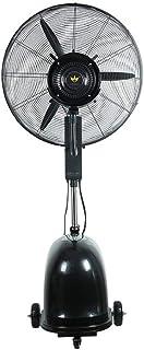 Ventilador de piso doméstico, ventilador de nebulización de agua Ventilador de pulverización Enfriador de aire Ventilador de enfriamiento de aire Humidificador de aire (Tamaño: 30