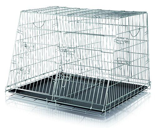 Trixie 3930 Home Kennel, doppelt, S–M: 90 × 64 × 79 cm