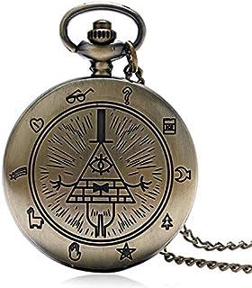 a8dad4d5e Bronce Retro Libre Y Aceptado Masones Todo-Ver Patrón De Ojos Hombres  Mujeres Cuarzo Reloj