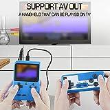 EtparkK Consoles De Jeux Portable, Console de Jeu Retro, avec 400 jeux classiques Écran couleur de 2,8 pouces Prise en charge Deux joueurs Chargement USB, Grand Cadeau pour Les Enfants