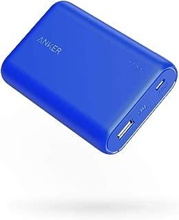 Anker PowerCore 10000 (モバイルバッテリー 10000mAh 最小最軽量 大容量)【PSE認証済/PowerIQ搭載】 iPhone&Android対応 *2020年1月時点 (ブルー)