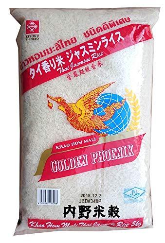 タイ米 ゴールデンフェニックス 5kg×2袋 (10kg)  ジャスミンライス(香り米) Golden Phoenix