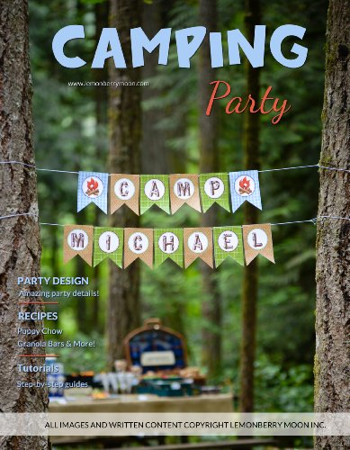 Camping Party (Lemonberry Moon DIY Parties) (English Edition)