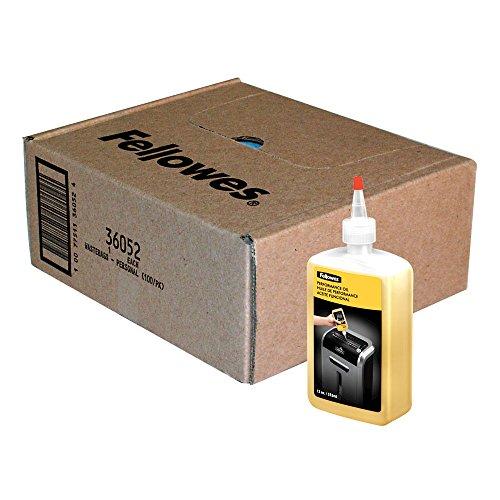 Fellowes Shredder Waste Bags and 12 Oz. Shredder Oil Performance Bundle for Small Office/Home Office Shredders
