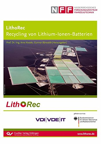 LithoRec Recycling von Lithium-Ionen-Batterien