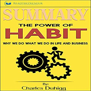 Summary: The Power of Habit audiobook cover art