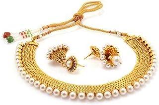Sukkhi Wedding Collection Jewellery Set for Women (Golden)(2719NGLDPP1250)