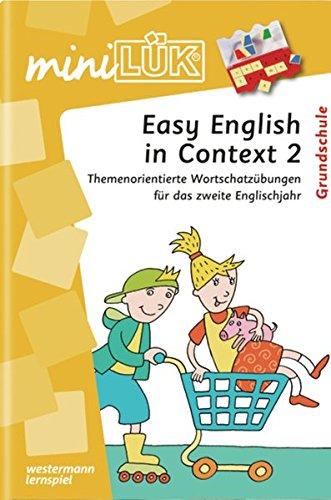 miniLÜK: English in Context 2: Themenorientierte Wortschatzübungen für das zweite Englischjahr