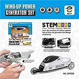 Absir Subotech DIY009 Manivela Car Winch Hand Winch Power Generator Set Kids Car Toy Niños Juego Educativo