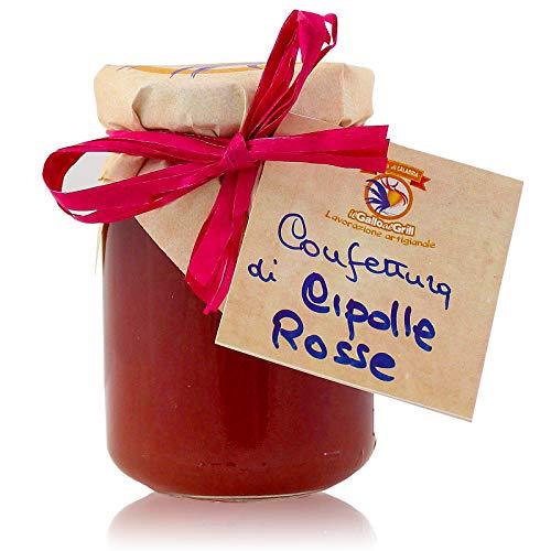 Confettura di Cipolle Rosse - artigianale Calabrese - 180g