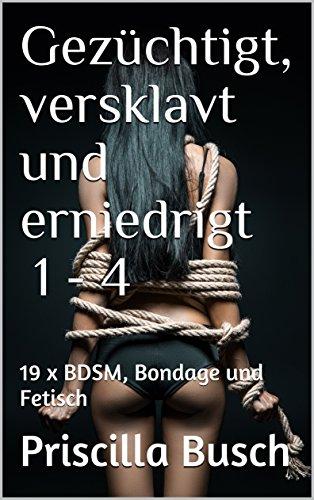 Gezüchtigt, versklavt und erniedrigt 1 - 4: 19 x BDSM, Bondage und Fetisch