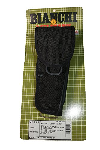 BIANCHI, UM84 Universal Military Holster, Size I, Black