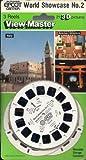Walt Disney World World Showcase #2 Italy, United States, Japan 3D View-Master 3 Reel Set - Made in USA