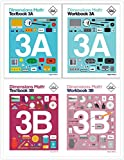 Dimensions Math Level 3 Kit (4 Books) -- Textbooks 3A and 3B, and Workbooks 3A and 3B