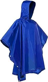 Rain Ponchos Unisex Raincoat Rain Jacket Adult Hooded Pullover Rain Poncho Waterproof Plus Size Poncho