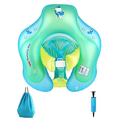 NBPOWER Schwimmring Baby Schwimmsitz Baby Schwimmhilfe mit Schwimmsitz,Mitwachsende Schwimmreifen Spielzeug,Hilfsmittel Floss ab 12 bis 36 Monaten (66)