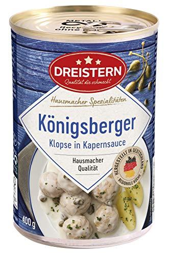 DREISTERN 4 Königsberger Klopse, 400 gramm