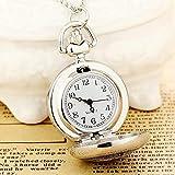 BAIDEFENG Reloj de Enfermera con Broche,Reloj de Bolsillo con Estampado de Moda, Reloj de Cuarzo con Colgante de Collar,diseño de Control de infecciones