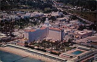 Roney Plaza Hotel Miami Beach, Florida Original Vintage Postcard