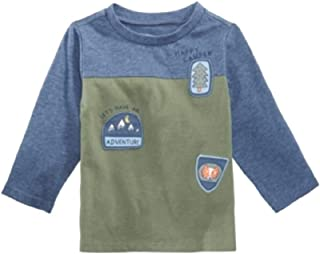 First Impressions Baby Boys Colorblocked Patches T-Shirt