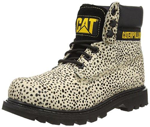 Caterpillar Damen Colorado Burnish Brights Chukka Boots, Beige Houndawg Black, 38 EU