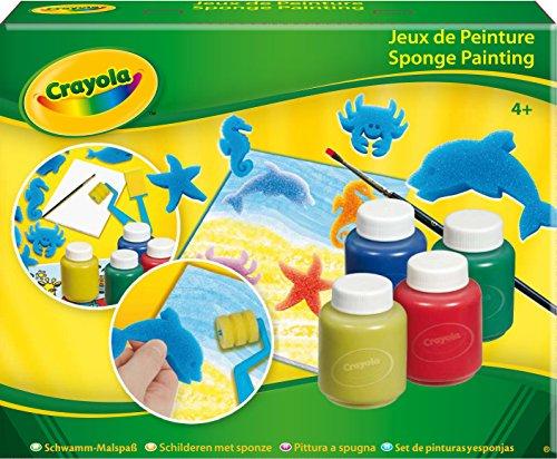 Crayola - Set De Pinturas Y Esponjas (5314)